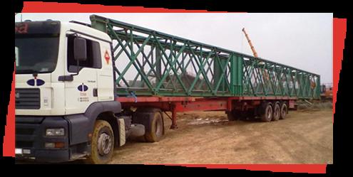 Grúas Duero S.L. camión pluma extensible
